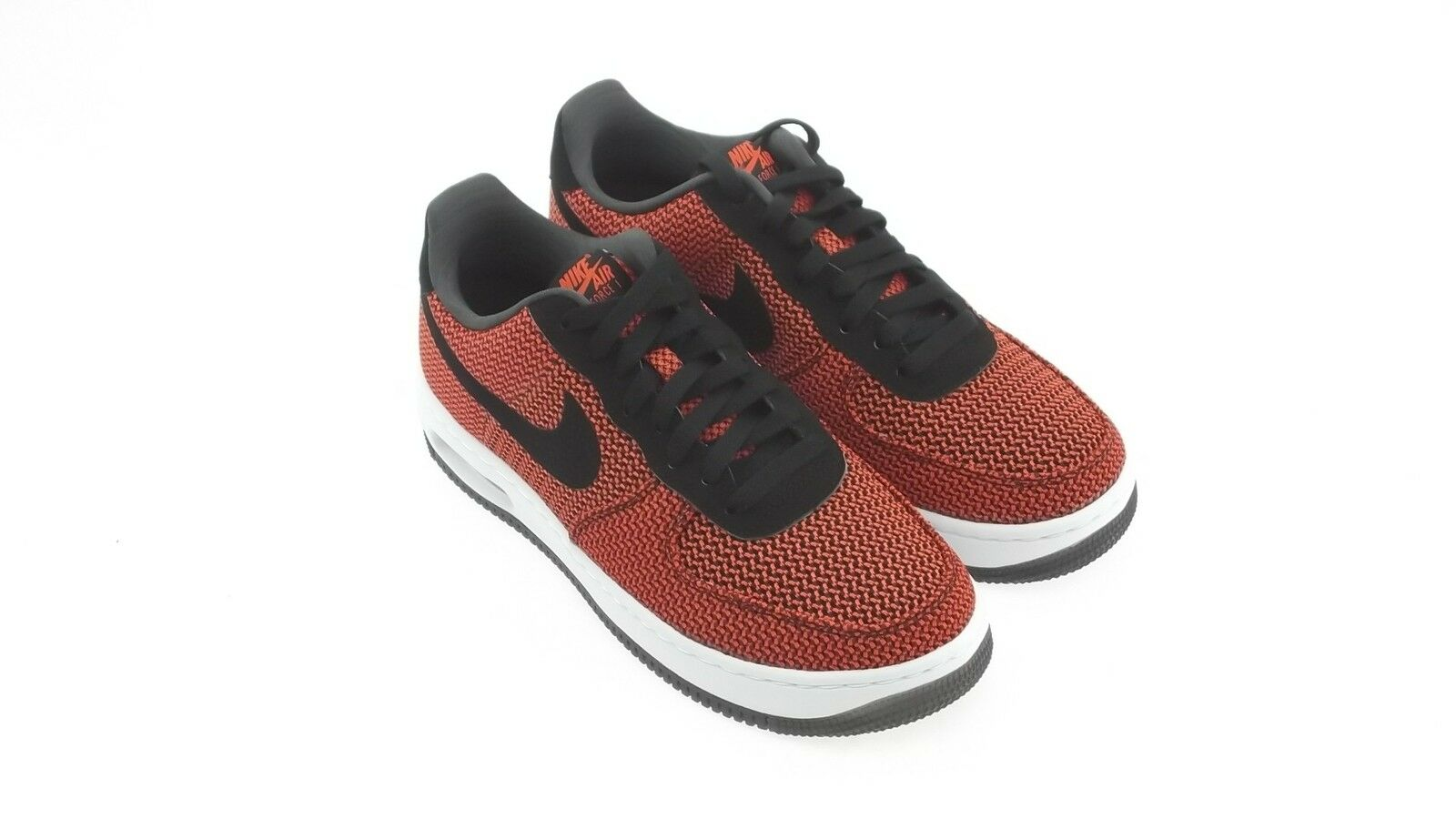725144-600 Nike Men Air Force 1 Elite TXT red black