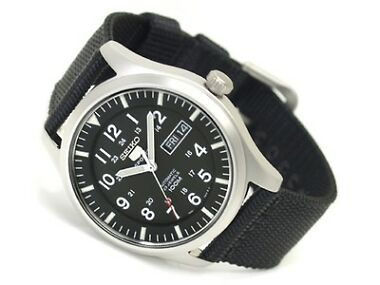 Seiko 5 Sport Canvas Men's Automatic Watch
