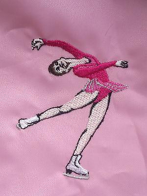 Personalizzata Ice Skater / Pe / Scuola / Sport Custodia A Coulisse-ol/sports Drawstring Bag It-it