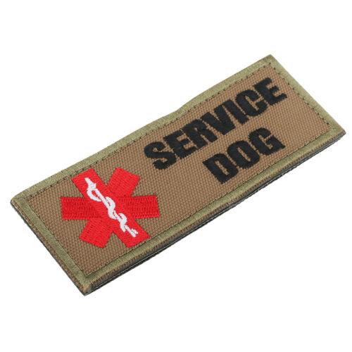 Service Hund Sanitäter Stern des Lebens Patch Hook Loop für Haustier Weste