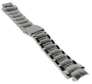 Minott Chrono Ersatzschließe Dornschließe Edelstahl Silberfarben für Lederbänder