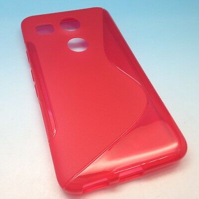 Google LG Nexus 5X Soft Transparent Clear TPU Silicone Cover Case Canada 5.2""