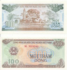 Vietnam-Viet-Nam-100-Dong-1991-UNC-Pick-105a