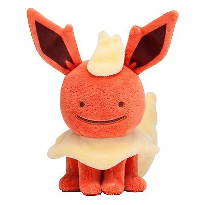 Pokemon Center Original Plush Doll Ditto Metamon Flareon New Japan