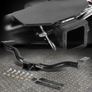 class iii trailer hitch receiver rear tow tube hook kit. Black Bedroom Furniture Sets. Home Design Ideas