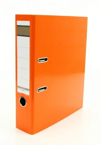 Farbe orange Livepac Caribic Glanz-Ordner 75mm breit DIN A4