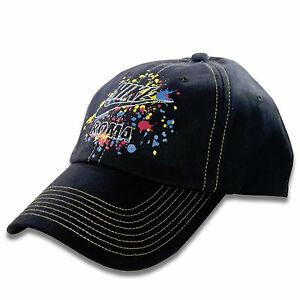 Nike Unisex Black Multi-Color ROMA Graphics 6 Panel Adjustable Hat ... 70f4b72a6d6