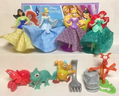 Kinder Surprise  Series 2017 Disney Princess SE243-SE250 all 8 BPZ