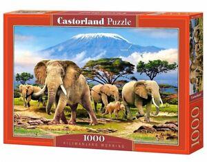 (CSC103188) - Castorland Jigsaw 1000 pc - Kilimanjaro Morning