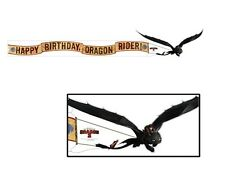 How to Train Your Dragon ~ (1) Birthday Banner ~ Birthday Party Supplies
