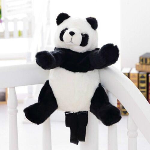 Lady Girls Faux Fur Furry Fluffy Panda Doll Shoulder Bag Backpack Cute Gift New