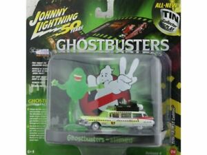 CADILLAC ECTO 1A slimed inkl. Figur - Ghostbusters - Johnny Lightning 1:64