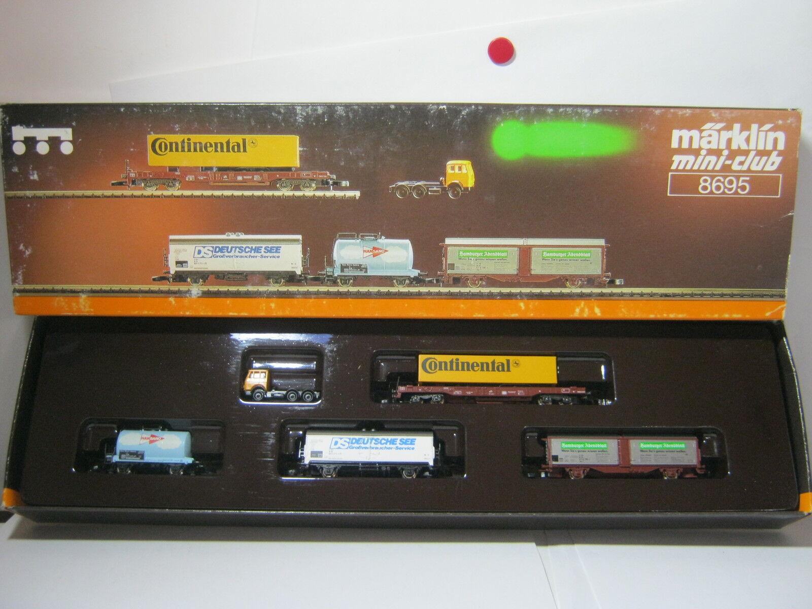 Mini Club Z 8695 carri Set Carrello regionale del Nord 5 pezzi  rg/av/10s4