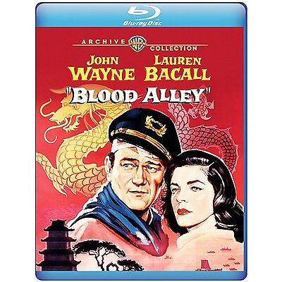 Blood Alley 1955 (Blu-ray) John Wayne, Lauren Bacall, Paul Fix ...