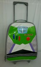 Toy Story Buzz Lightyear Light Up Rolling Luggage Suitcase Carry On Travel Bag