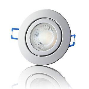 LED Einbaustrahler Badezimmer IP44 Feuchtraum Einbauleuchte Spot ...