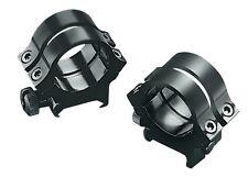 Weaver 49046 Quad Lock 1-inch Medium Detachable Rings Matte Black