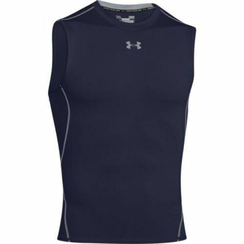 Under Armour UA Men/'s HeatGear Sleveless Compression Shirt  FREE SHIP 1257469