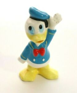 Vintage Disney Donald Duck Walt Disney Production Porcelain Ceramic Figure 3 in