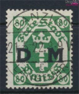 Danzig-D16Y-liegendes-WZ-gestempelt-1922-Dienstmarke-9045868