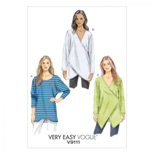 Vogue Ladies Easy Sewing Pattern 9111 Loose Fitting /& M... Free UK P/&P