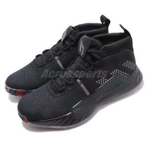 new product 011cb 5e517 Image is loading adidas-Dame-5-V-Damian-Lillard-Black-Grey-