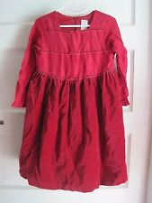 Girls 6 2002 Gymboree 100% Silk Velvet Ribbon Tulle Flounce Party Holiday Dress