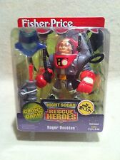 Rescue Heroes Night Squad Roger Houston! FACTORY SEALED!