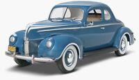 Monogram 1940 Ford Standard Coupe 1/25 Model Car Kit 4371