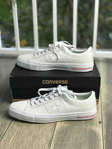 d9bbe2aff28 Sneakers Men s Converse One Star Pro Low Top Suede White Red