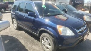 CERTIFIED 2004 Honda CR-V EX Leather 2 Year Warranty Included