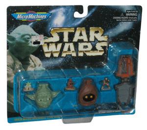 Star-Wars-Micro-Machines-III-Yoda-amp-Jawas-Galoob-Toy-Mini-Figure-Play-Set