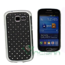 Custodia cover BRILLANTINI per Samsung Galaxy Fresh Trend Duos S7392 NERA