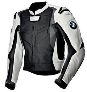 BMW Herren Rennen Leder Biker Jacken Motorrad Lederjacke