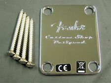 2013 Fender CUSTOM SHOP DESIGNED NECK PLATE Classic Player Strat or Tele Guitar