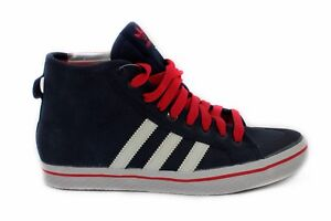check out f0db6 ea94d ... Scarpa-da-donna-blu-alta-Adidas-Honey-Striped-