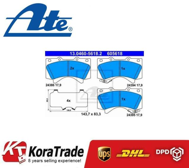 ATE 130460-56182 FRONT OE QUALITY DISC BRAKE PADS SET
