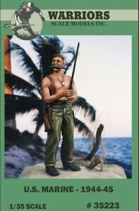 Warriors-1-35-US-Marine-1944-45-Resin-Figure-Kit-35223
