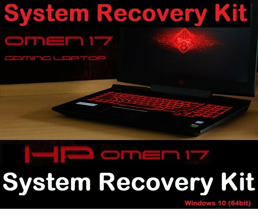 Hp Omen Series System Recovery Kit Reinstall Back To Original Win 10 Settings For Sale Ebay