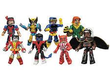 Marvel Minimates ~ GIANT SIZED X-MEN SET ~ Wolverine, Storm, Cyclops, Colossus++