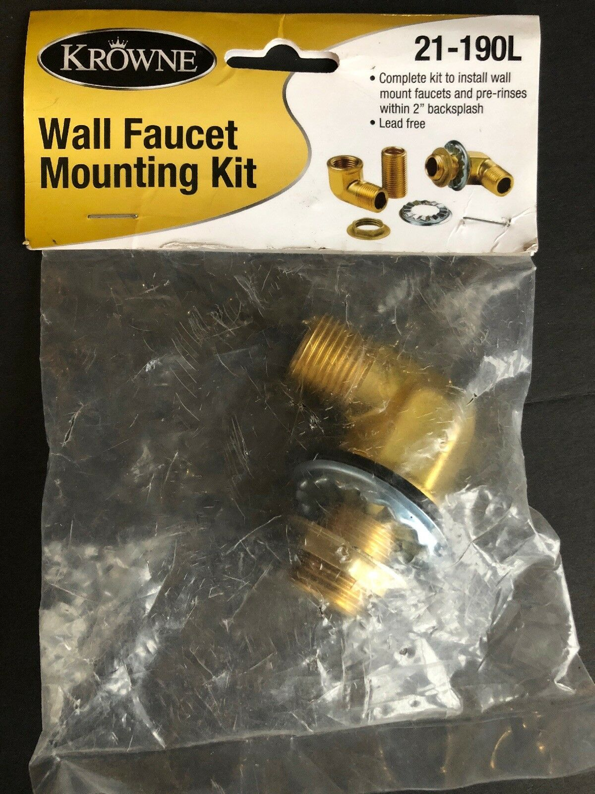 - Krowne Wall Faucet Mounting Kit 21-190l For Sale Online EBay