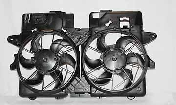 05-05 Ford Escape/Mercury Mariner 3.0L Radiator & Condenser Cooling Fan Assy