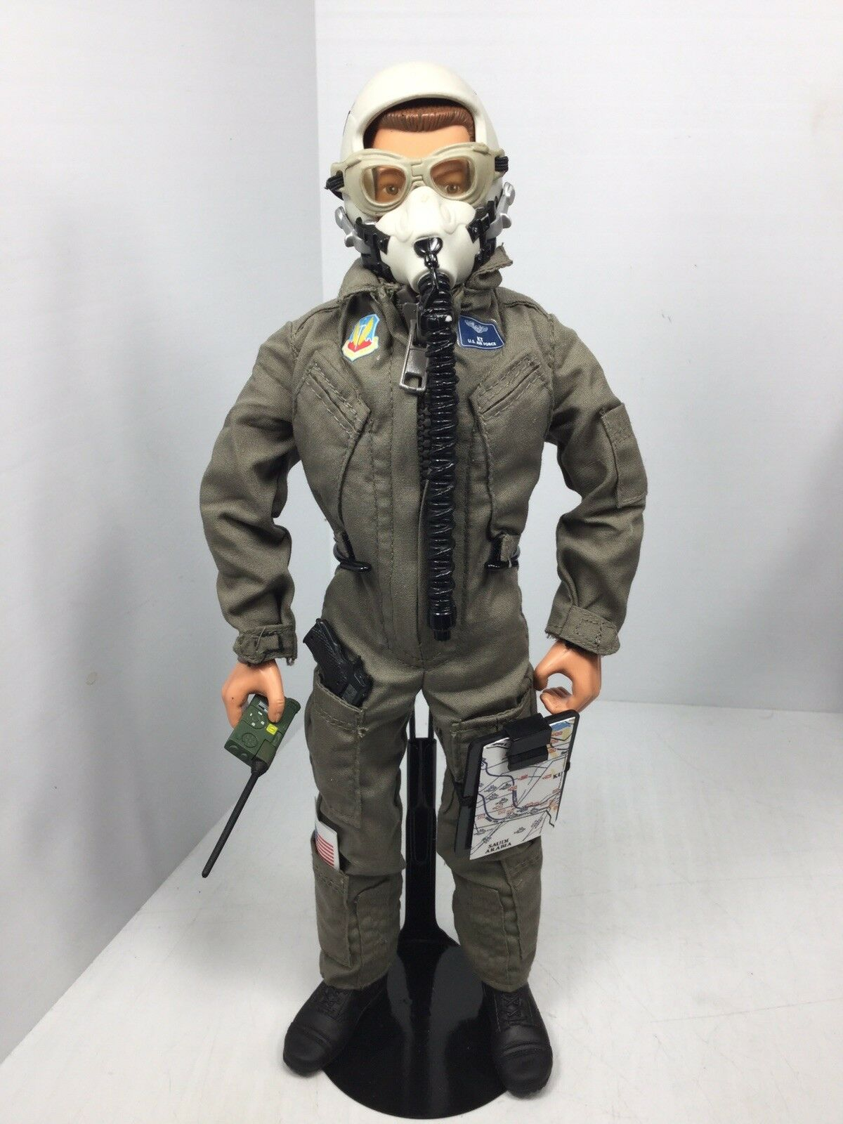 1 6 HASBRO US AIR FORCE F-15 EAGLE MODERN FIGHTER PILOT +STAND BBI DID DRAGON 21