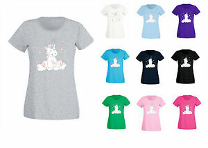 T-Shirt Summer Shirt Kawaii Colourful Sweet Unicorn Cutie