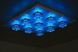 Plafoniera Da Esterno Con Doppia Lampada : Plafoniera led design con telecomando lampada da soffitto