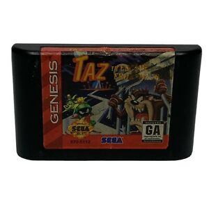 Taz in Escape From Mars (Sega Genesis, 1994) Cartridge Only Cleaned & Tested