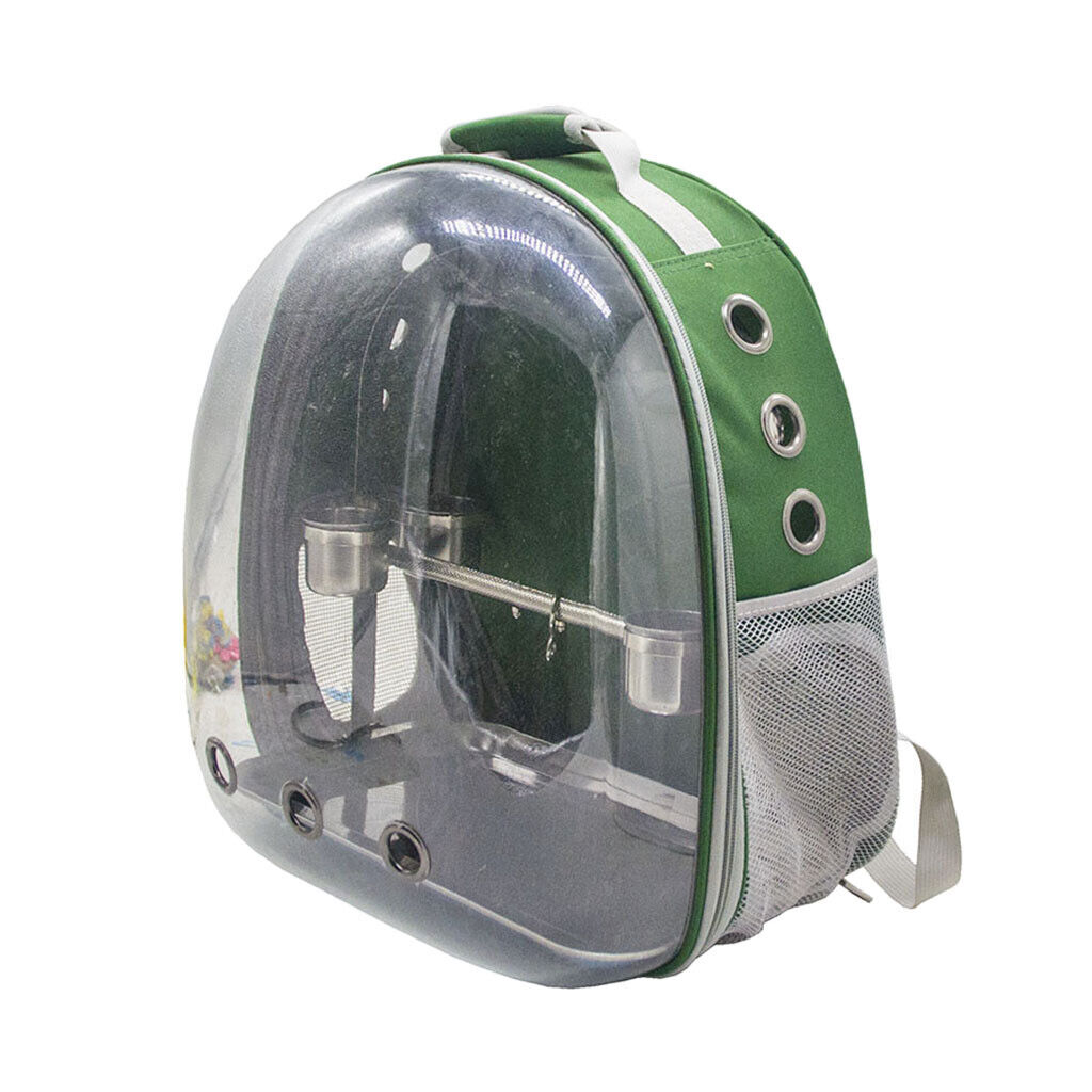 Parrot Carrier Backpack Bird Reisetasche Space Capsule mit 1 Set
