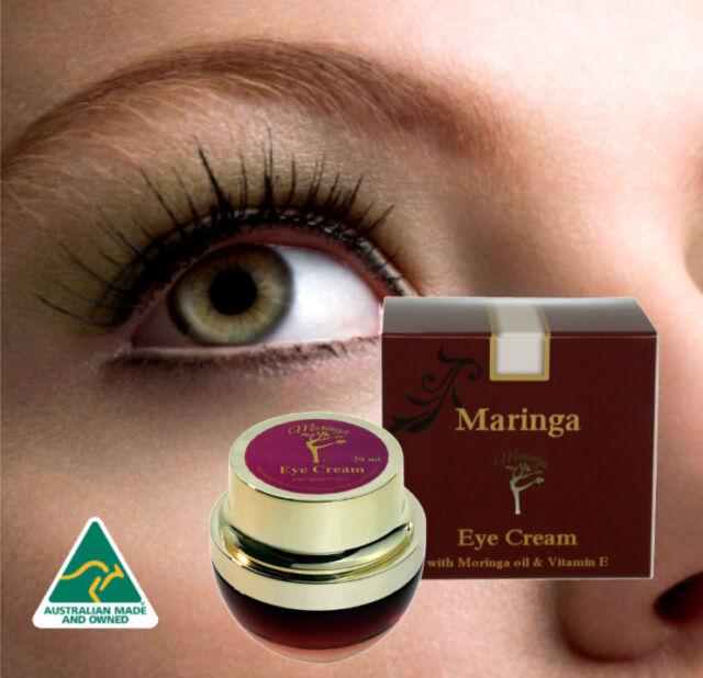 Eye Care Cream Moisturizer with Moringa Oil, Cacao Butter & Vitamin E