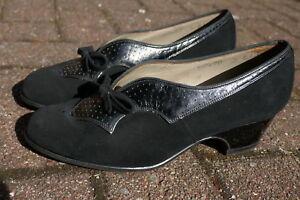 Details zu Vintage Damen Schuhe + 50 er Jahre, Rockabilly, Swing