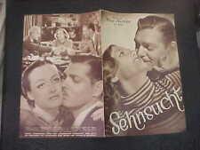 CHAINED, orig Austrian Film program [Joan Crawford, Clark Gable] - 1934